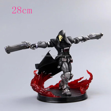 28cm Overwatch Reaper Action Figure Collection PVC Figures