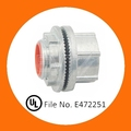 IMC conduit threaded hub with