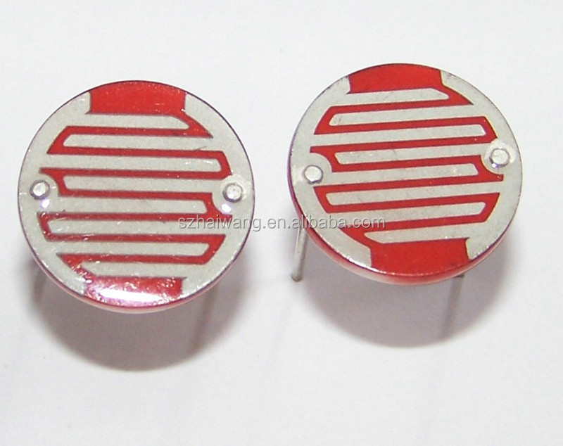 Low cost 20mm Small Volume Light Resistance 30-50Kohms LDR