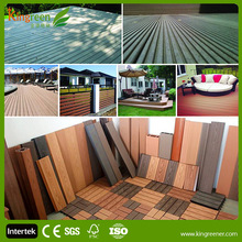 Deck Design Indoor Wood Grain Click Laminate Flooring Planks WPC Flooring