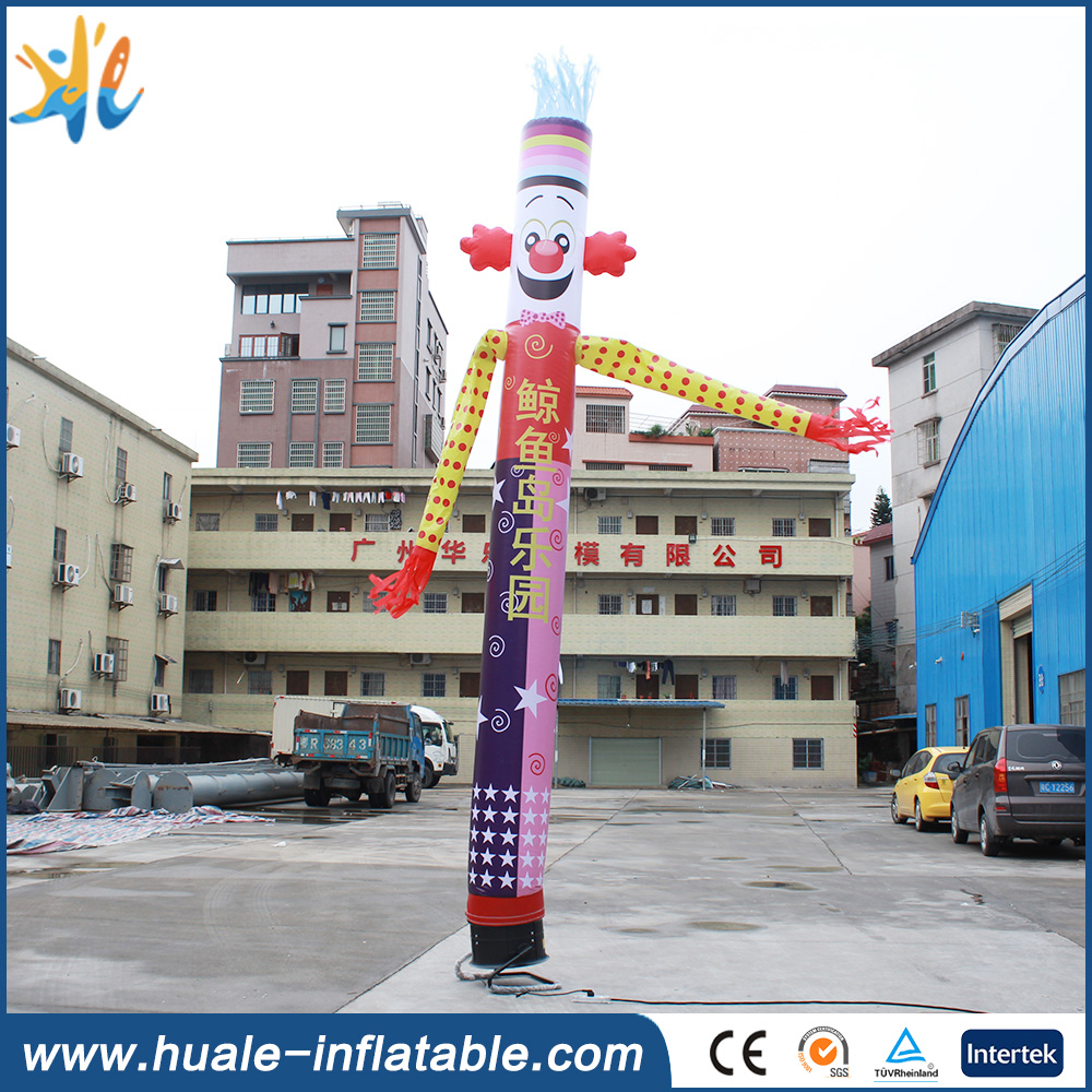 mini inflatable sky air dancer dancing man ,inflatable clown sky dancer for sale