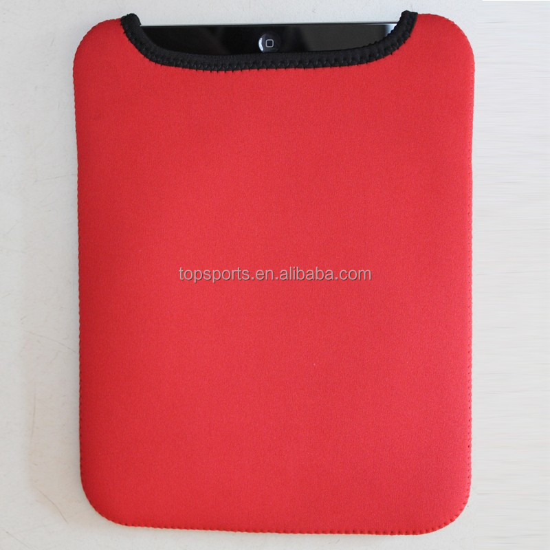 Custom universal neoprene tablet sleeve for iPad air and 10 inch tablets