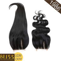 Stock No Nits Brazilian Silk Base Frontal Closure With Baby Hair
