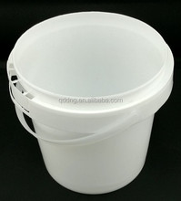 500ml plastic bucket pail with lid and handle Plastic bucket 500ml for packing yoghourt honey