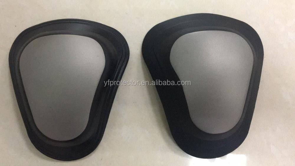 Titanium shoulder pad