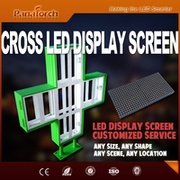"PanaTorch ""Making the LED Smarter"" solution of screen Dual Colors RG For Pharmacy Advertising"