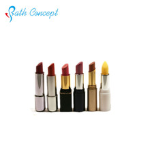 mental gold container tube long lasting matte lipstick