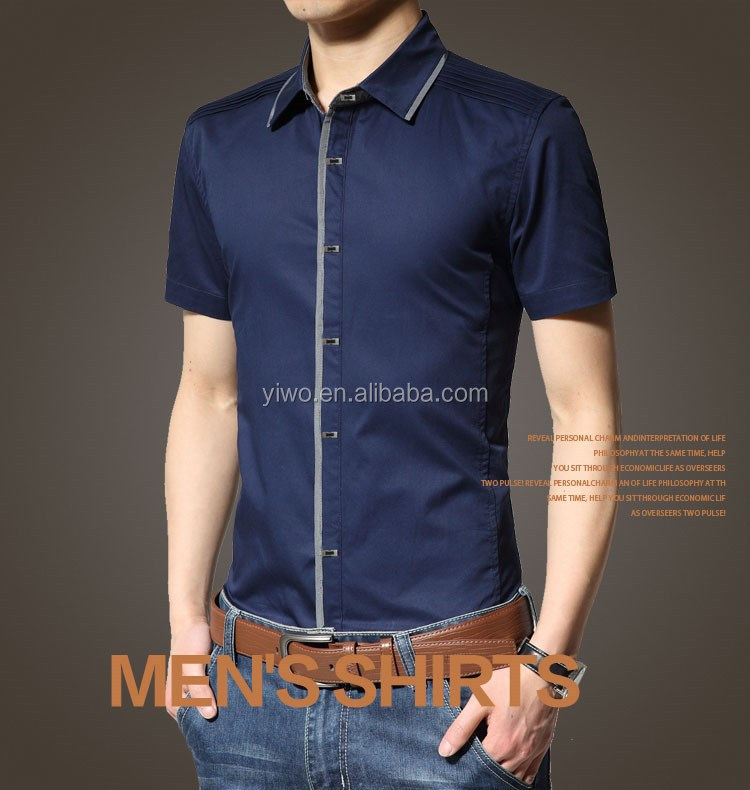 Cheap Price Good Quality Shirt for men's in china factory