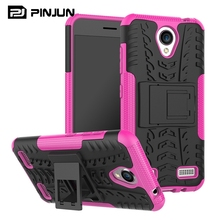 Anti broken tire texture pc tpu armor kickstand case for zte blade a520 , protective phone case for zte blade a520