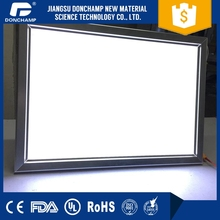 super thin ultra slim advertising direct Factory Price edge lit sign a frame signs on air light box