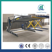 Tilting 2.0 Ton 2 floor parking lift for two carvertical parking system with CE