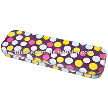 Customized printed tin pencil case metal box for kids