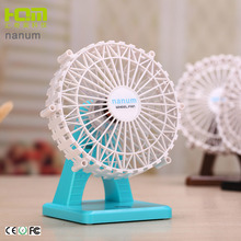 Top Quality Black Mini Portable Fan Battery Operated For Mosquito Repellent