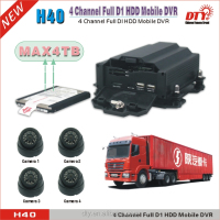 Full D1 HDD 3g mobile cctv dvr 4CH HDD MDVR with 3G WIFI GPS