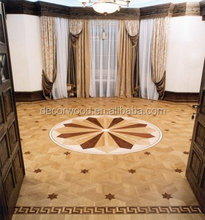 high quality custom medallion german parquet flooring