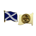 Scotland Saltire Shield Pin Badge Scotland Scottish St.Andrews Country Metal Lapel Pin Badge Scotland Souvenir