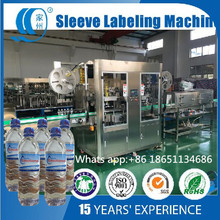 Bottle Neck and Body Shrink Sleeve Labeling Machine