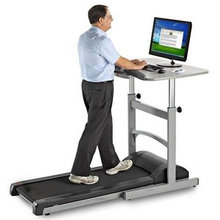 GS-650-1 New Design PATENT Indoor Motorized Treadmill With Desk