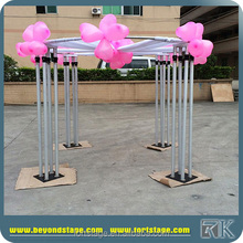 2017 Telescopic Drape Supports roundness crossbar and drapery for wedding