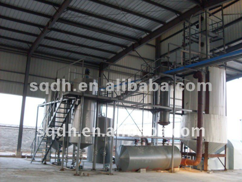 waste/crude oil purify machine