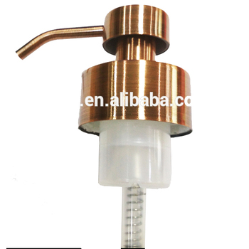 46mm metal stainless steel foam pump with foam nozzle