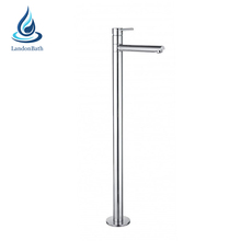 CE/cUPC/Watermark shower room long size round tube free standing bathtub faucet for hotel and villa