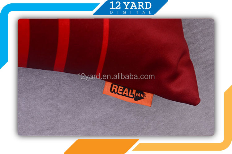 Character printed sport fans jersey pillow, Portugal nation 100 polyester fiber pillow, team jersey