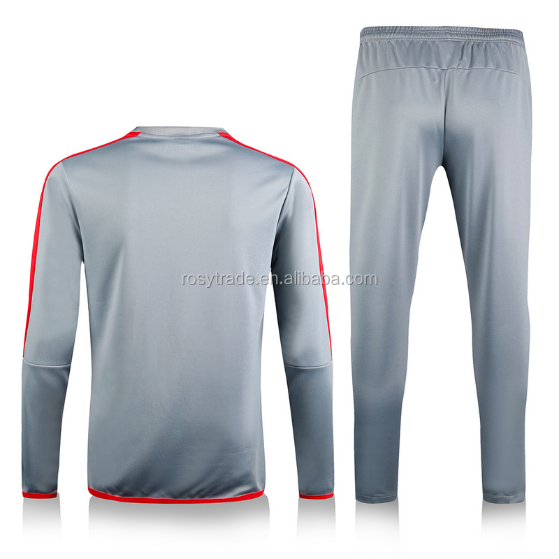 new design cheap soccer pants soccer training tracksuit long sleeve soccer jersey