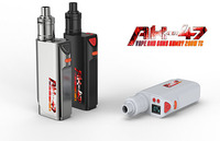 The best selling 200W box mod Kamry AK-47 temperature control vaporizers with RDA atomizer
