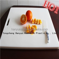 Hard plastic board/ high chemical technical of natural vrigin grade uhmwpe cutting board