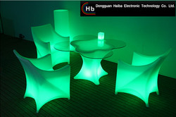 Hot selling led bar counter/led bar table/led lighted furniture made in China