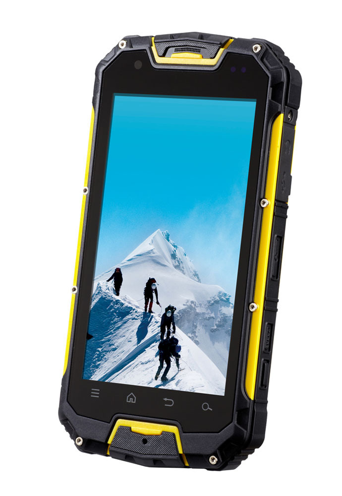 Hottest 4.5inch industrial phone with walkie talkie rugged phone