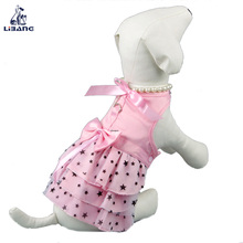 2018 new style holiday party pet clothes colorful fancy dog dress