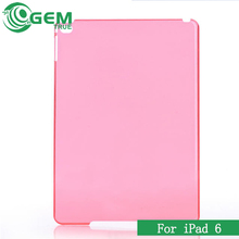 For iPad 6 Ultrathin Hard Crystal Plastic Slim Cover Case