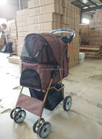 New Design Durable Pet Carrier On Wheels Outside