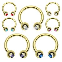 Best selling attractive style circular ring parts with different colors
