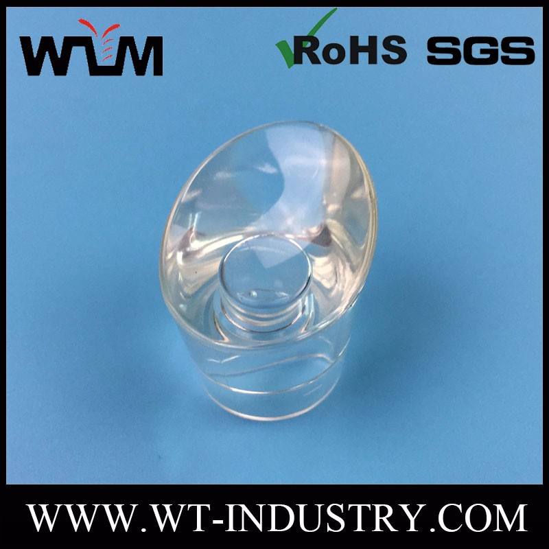 Custom PC Injection Molding Transparent Plastic Parts Components For Light Handle