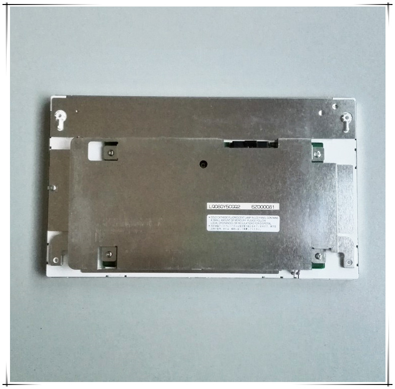 Automotive Display 800x480 TFT SHARP 8 inch LCD Panel Module LQ080Y5CGQ2