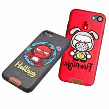 Wholesales Mobile Accessories for iphone 6 Custom starshow Embroidery Phone Case