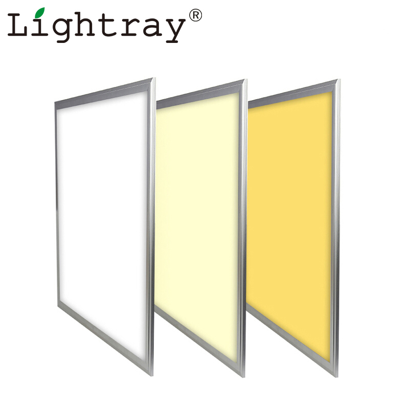 36w 120lm/w led 600x600 standard sizes panel led light for office