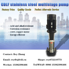 304 stainless steel water pump multistage water pump for high rise building vertical multistage pumps