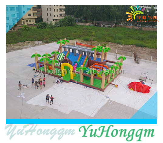 New Design Inflatable Dinosaur Bounce Castles ,Inflatable Amusement Park ,Inflatable Trampoline For Kids And Adults Play