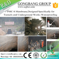 Online Shop China Non-Toxic Waterproof Membrane Metal Waterproof Spray Paint For Tunnel Metro Underground Passage Roof