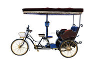 2015 fashional passenger electric bike rickshaw factory price/taxi bike tricycle in China