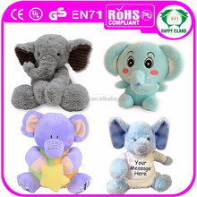 2015 HI Famous character stuffed toy stuffed plush elephant toy plush elephant