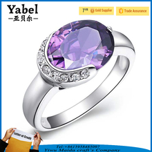 Wholesale 925 Silver Cheap Diamond Wedding Ring Sets Anniversary Rings