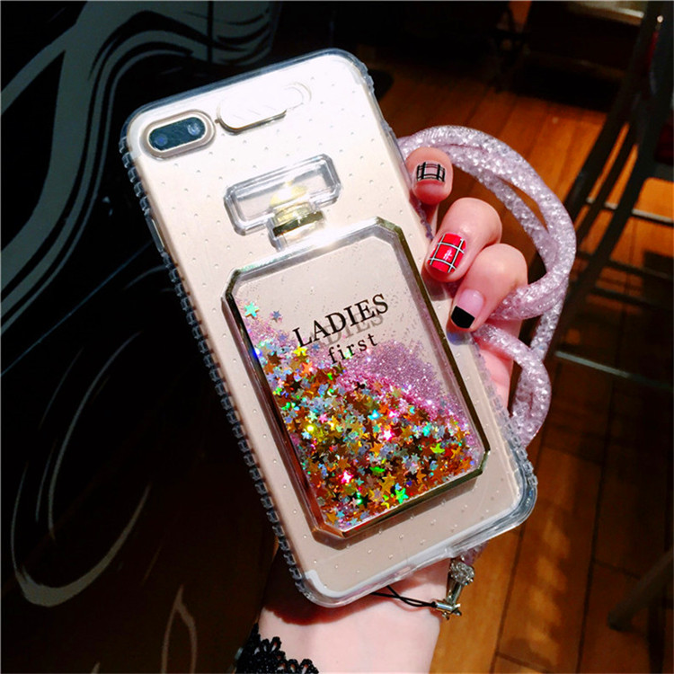 2017 custom news liquid glitter phone <strong>case</strong> For iPhone 6 silicone <strong>case</strong>