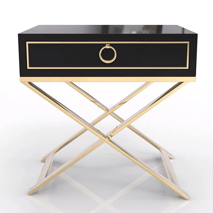 Luxury locker smart bedside table bedroom <strong>furniture</strong>