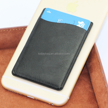 Leather Mobile phone back Cover card holder