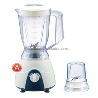Food blender mixer, 1.5L capacity jar, coffee grinding dry mill attachment, 300W